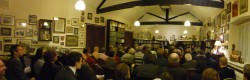 A full library for Newman Second Spring Sermon at The College, Littlemore.